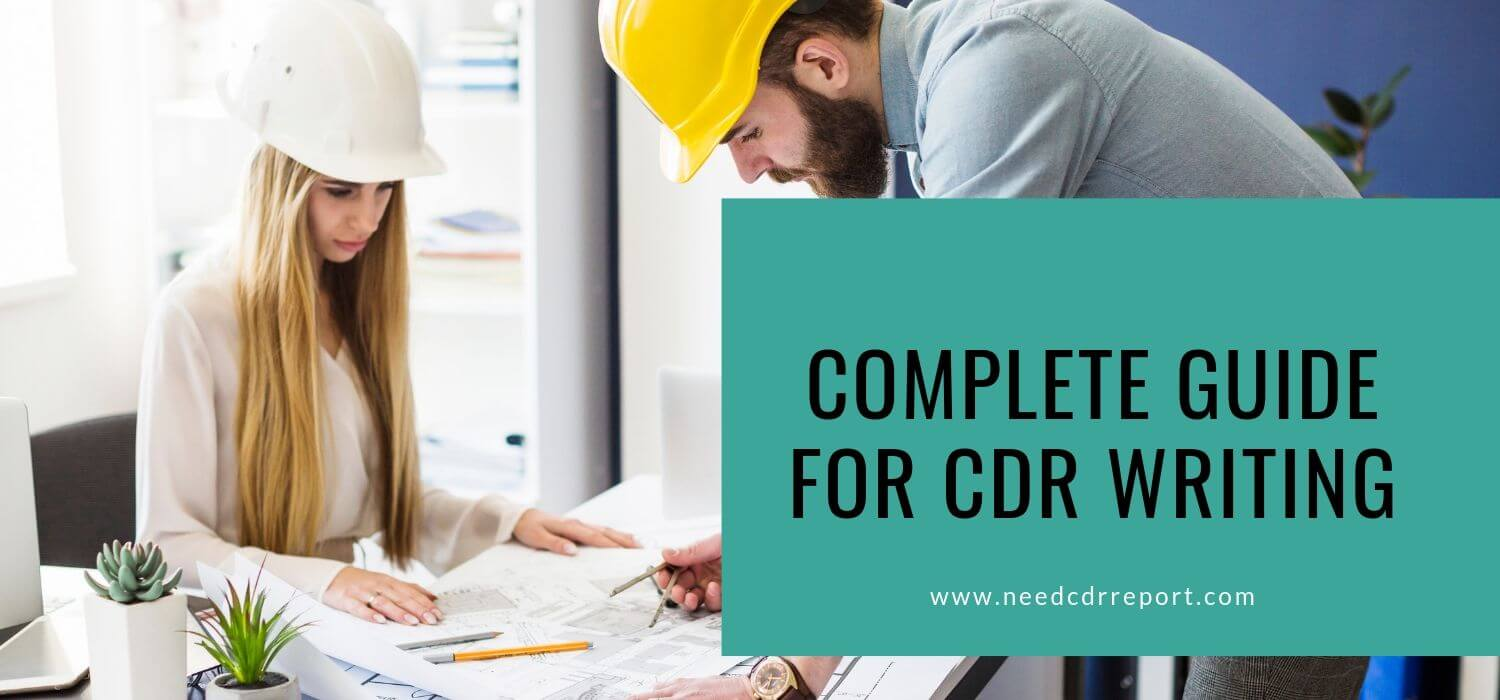Complete Guide for CDR Writing