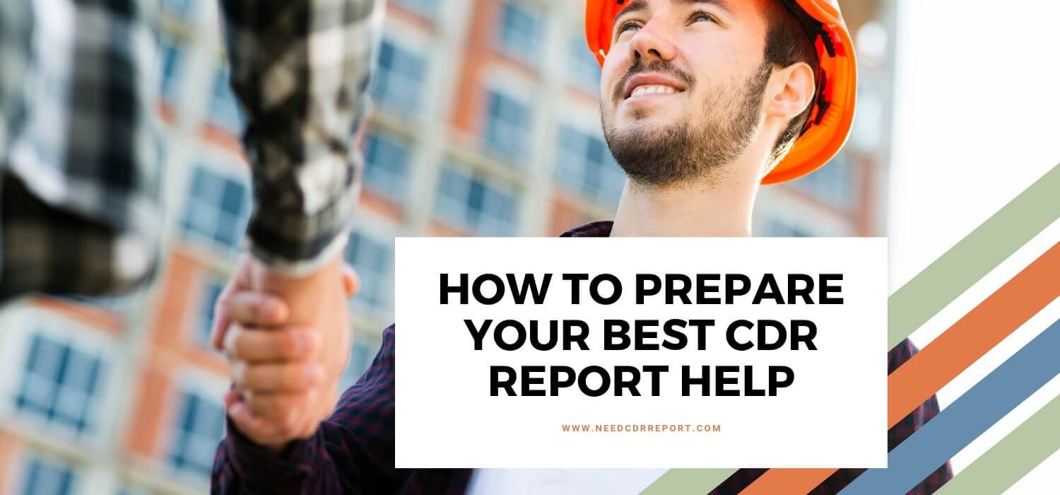 How to Prepare Your Best CDR Report Help