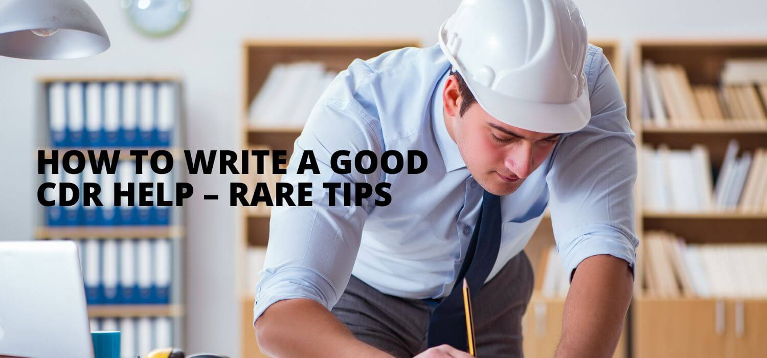 How to Write a Good CDR Help – Rare Tips