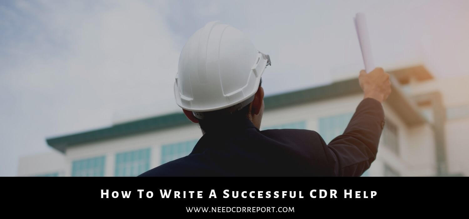 How To Write A Successful CDR Help