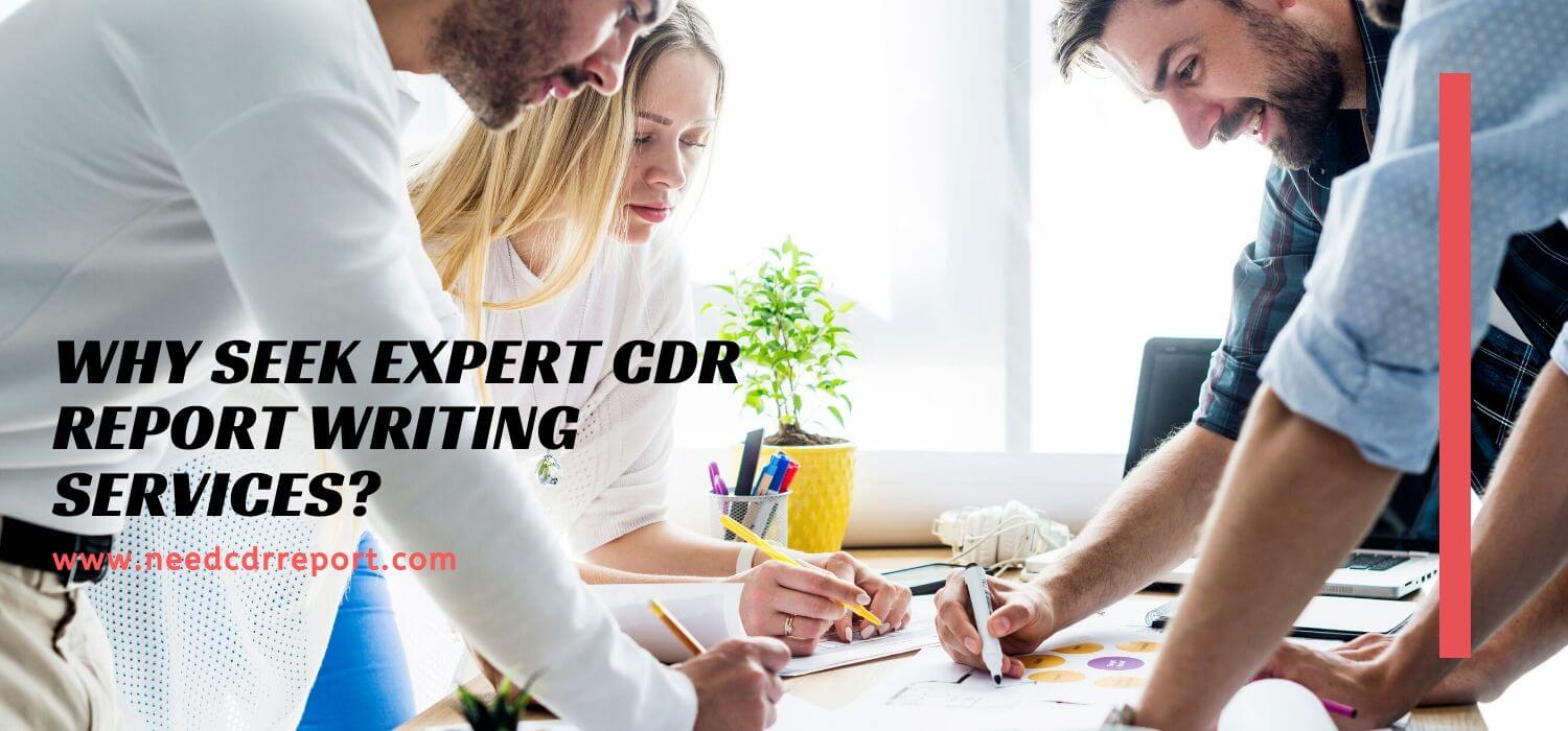 Why Seek Expert CDR Report Writing Services?