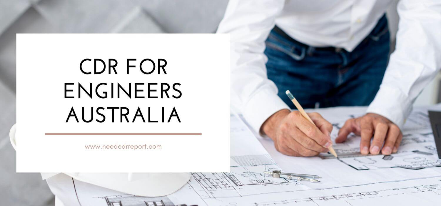 CDR For Engineers Australia