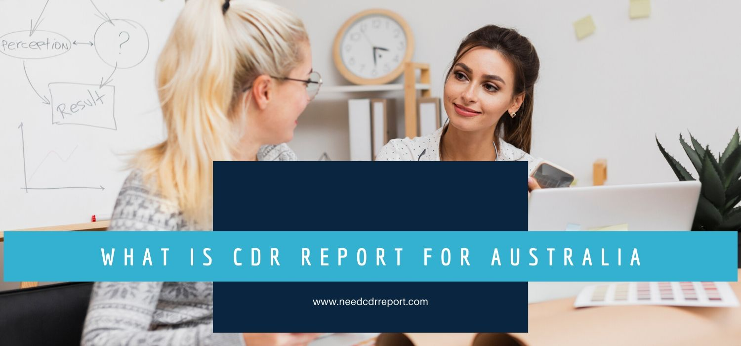 What is CDR report for Australia
