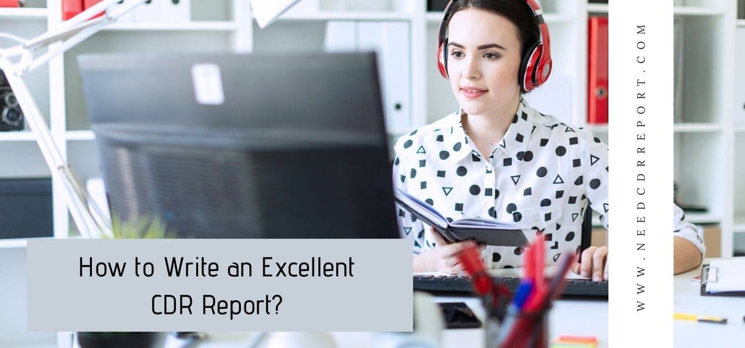 How to Write an Excellent CDR Report