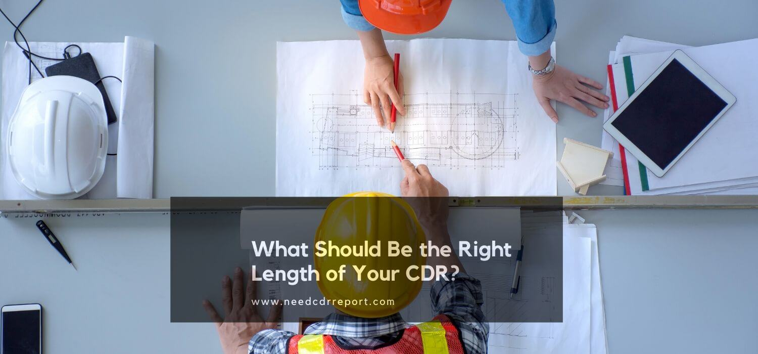 What Should Be the Right Length of Your CDR?