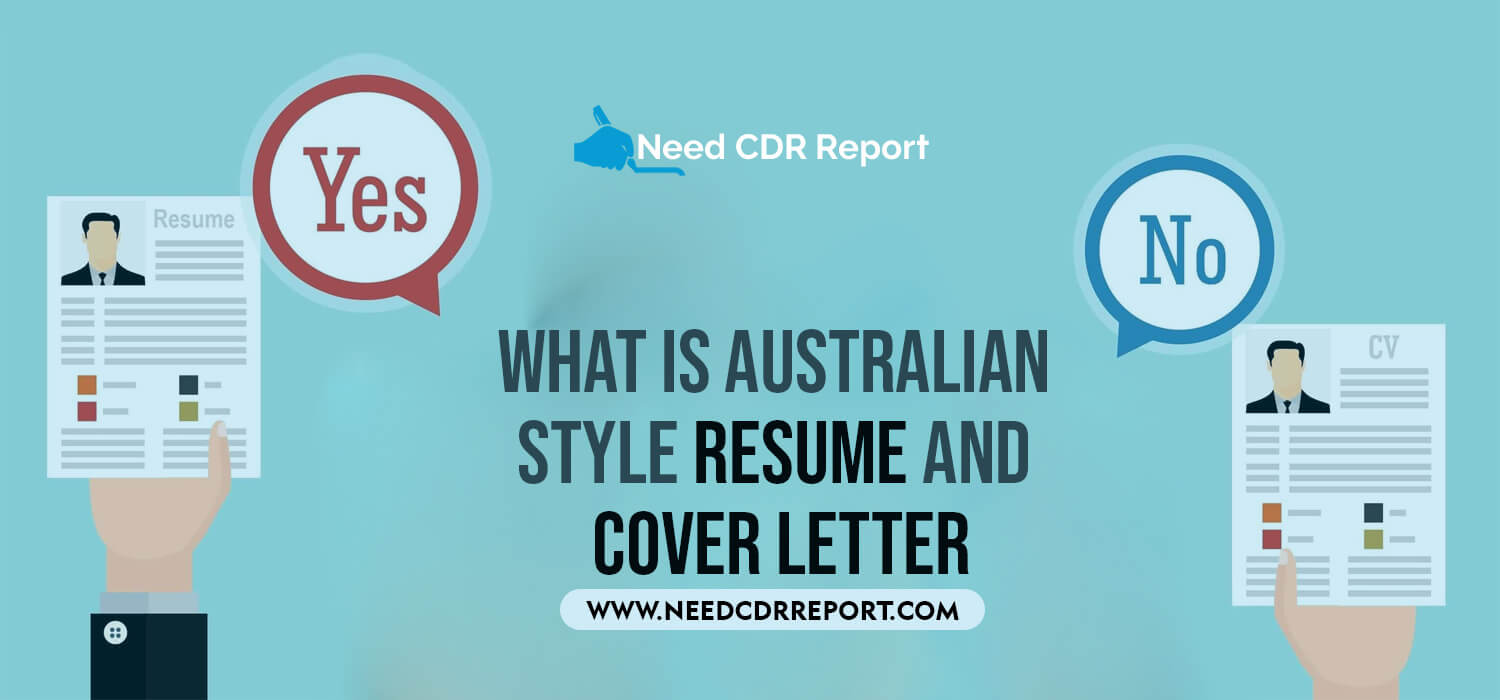 What is Australian Style Resume and Cover Letter?