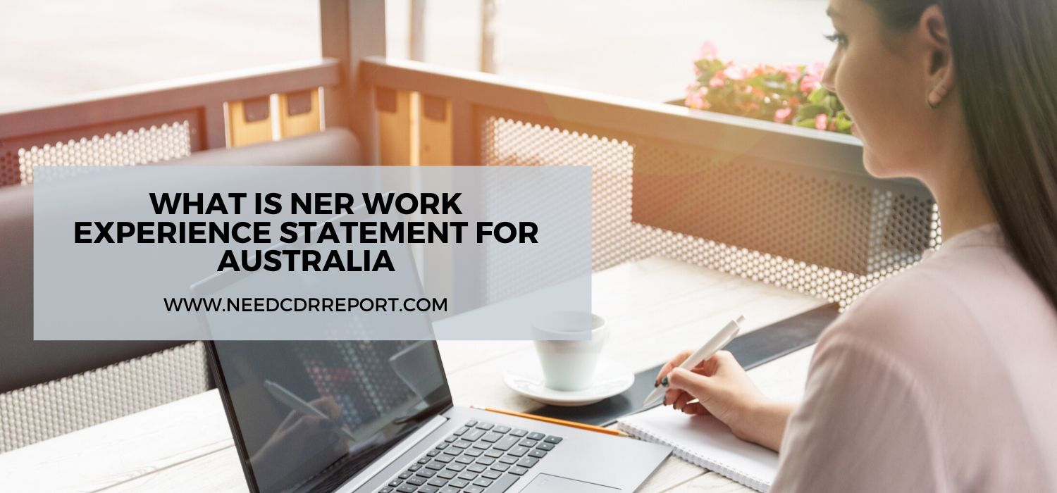 What is NER Work Experience Statement for Australia